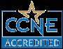 CCNE Accredited Badge
